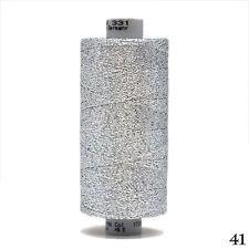 GUTERMANN Wrap Yarn 700M Metallic Thread Silver 70% POLYAMIDE 30% POLYESTER