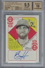 BRYCE HARPER 2015 Topps Heritage '51 Blue Back Autograph #7/25  9.5/10  (B4204
