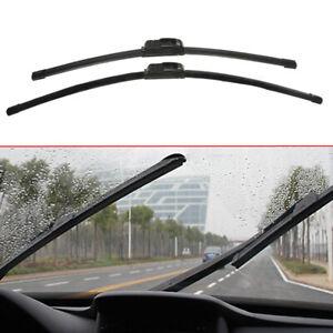 "1 Pair J-Hook Car Window Windshield Wiper Blade Bracketless 24""+18"" Universal S"