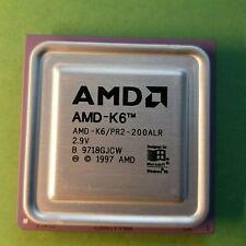 AMD-K6/PR2-200ALR - B 9718GJCW - 200 Mhz - bus 66 Mhz - socket 7