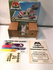 1989 kenner mega force Thunderwolf Heavy Lift Helicopter Vrocs New In Open Box