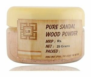 25g Pure Sandal Wood / Chandan Powder, Pure & Genuine Natural Mysore Sandal