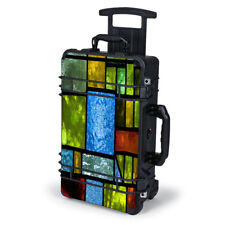 Skin Decal Wrap for Pelican Case 1510 / Colorful Stained Glass