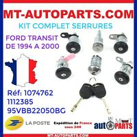 Kit complet de barillets / serrures / Neiman Ford Transit 1994 à 2000 - 1074762