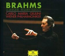 Brahms - Giulini, Wiener Philarmoniker: Le sinfonie - Requiem tedesco 5 cd NUOVO