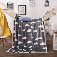 Soft  Warm Queen King Size Sofa Bed Fleece Throw Blanket Luxury Faux Fur Mink