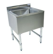 "8 Circuit Insulated Ice Bin & Cold Plate 24"" x 18"" Restaurant BBKIB-CP8-2412-18S"