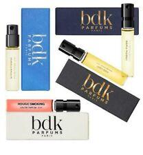 bdk Parfums Sample Lot: Rouge Smoking, Tabac Rose, Citrus Riviera Rare Samples