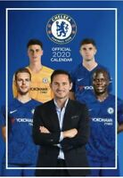Chelsea FC Official 2020 Calendar Football Team A3 Wall Poster Gifts + 2019