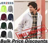 JERZEES Mens NuBlend Full-Zip Hooded Sweatshirt 993MR up to 3XL