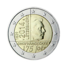 "Luxembourg 2 Euro commemorative coin 2014 ""Independence"" - UNC"