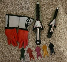 Working Power Rangers Time Force Chrono Saber sword and gloves tips