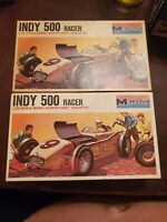 2X INDY 500 Racer 1/24 Scale Model Kurts-Kraft Roadster kit #6715 Monogram 1959