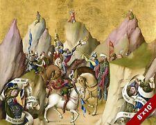 3 KINGS WITH DAVID & ISAIAH PAINTING CHRISTIAN BIBLE ART REAL CANVAS PRINT