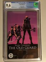 Image THE OLD GUARD #1 CGC 9.6  NM+ 25TH ANNIVERSARY BLIND BOX VARIANT NETFLIX!