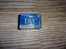 Panasonic DVC Digital Video Cassette Mini DV SP 60min LP 90min(LOT OF 3)