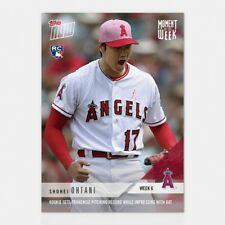 2018 TOPPS NOW #MOW6 MOMENT OF THE WEEK 6 - WINNER - SHOHEI OHTANI