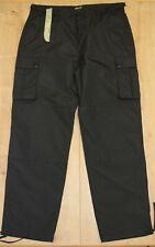 Pantalon motard de pluie toile imperméable homme SCHOTT NEUF noir W 38 US