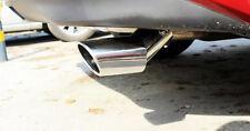 Sedan Silver Rear Exhaust Muffler Tip End Pipe For Mazda 3 M3 AXELA 2014-2017