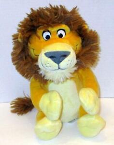 "KOHLS CARES FOR KIDS CARNIVORES LION 10"" DAN SANTAT BOOK STUFFED PLUSH DOLL TOY"