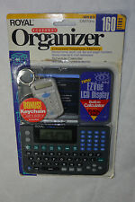 NEW ROYAL PERSONAL ORGANIZER! DM70nx! STORES UP TO 160 ITEMS! EZVue LCD DISPLAY!
