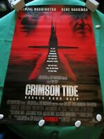 crimson tide double sided Authentic Original cinema one sheet movie film posters