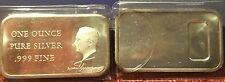 (2) President Harry Truman .999 Silver Art Bars - 1 oz Troy