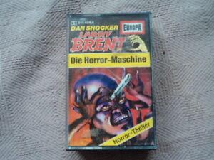 MC - Dan Shocker Larry Brent - Folge 4 - Die Horror Maschine - EUROPA -