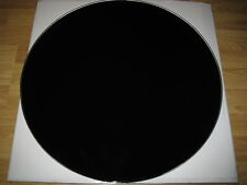 *SALE* 70CM ROUND BLACK TINT TEMPERED TOUGHENED WITH HOLE GLASS 700MM TABLE TOP