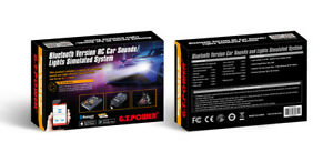 GT POWER RC Car Sounds/ Lights System 1/10 1/8 Car MOBILE APP Bluetooth Version