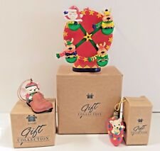 Avon Gift Collection Christmas Ornament Mouse Light Bulb, Mouse, Ferris Wheel