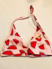 ROXY ~süßer Bikini für Mädchen pink Melonenmuster ~ NEU Gr.116 767d