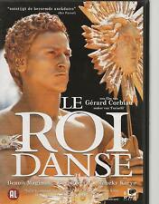 DVD - LE ROI DANSE  - FRANCAIS / NEDERLANDS  region 2 PAL