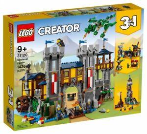 LEGO CREATOR 31120 Medieval Castle Building Kit 1426 Pcs