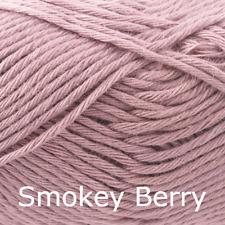 Rico Creative Cotton Aran  -100% Cotton Knitting & Crochet Yarn- Smokey Berry 12