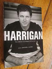 SIGNED COPY Bill Harrigan by Daniel Lane NRL GRAND FINAL REFEREE 2copies