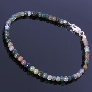Chakra Beads Gemstone Anklet Multi color India Agate Reiki Energy Healing Stones