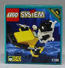 LEGO ® System Set 1749 Aquazone subacqueo-Paravane RARE OVP NUOVO ov MISB