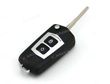 Remodel Remote Flip Folding Key Shell Case FOB For Mazda 3 6 5 2 Buttons 2 Color