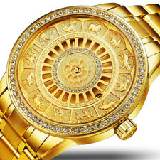 12 Chinese Zodiac Automatic Mechanical Watch for Men Stainless Steel