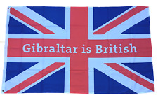 Solde Gibraltar Is British Union Jack 5 Pieds X 3 Drapeau Fin de Ligne Offre