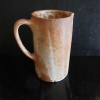 Poterie pichet cruche céramique grès fait main art déco design XXe France N3749