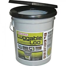 Reliance Luggable Loo Portable Snap On Toilet Seat Lid With Bucket 9881-03 NEW