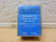 Schmetz Sewing Needles 100 pk Canu: 26:65FB Nm: 90/036 UY 113 GS SUK UOx113 SUK