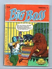BIG BOSS n°4. Arédit 1971. science-fiction.