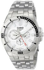 Casio Men's Chronograph Divers Stainless Steel Watch MTD-1060D-7AVDF