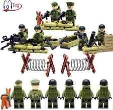 L3GO SWAT SOLDIERS BLOCKS MINIFIGURES MILITAR TOYS JUGUETES SOLDADOS..
