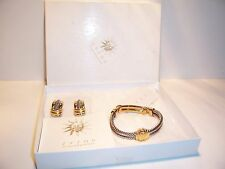 Zazou Jewelry Bracelet and Earrings Mint in Box