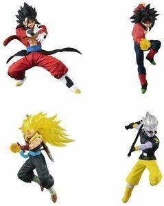 Dragonball Super Set Complet 4 Figurine Vs Bataille Série 13 BANDAI Gashapon