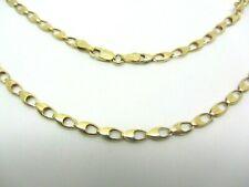 9ct Yellow Gold Hallmarked Fancy Loop Link Chain 16 inch 3.6mm 5.4g